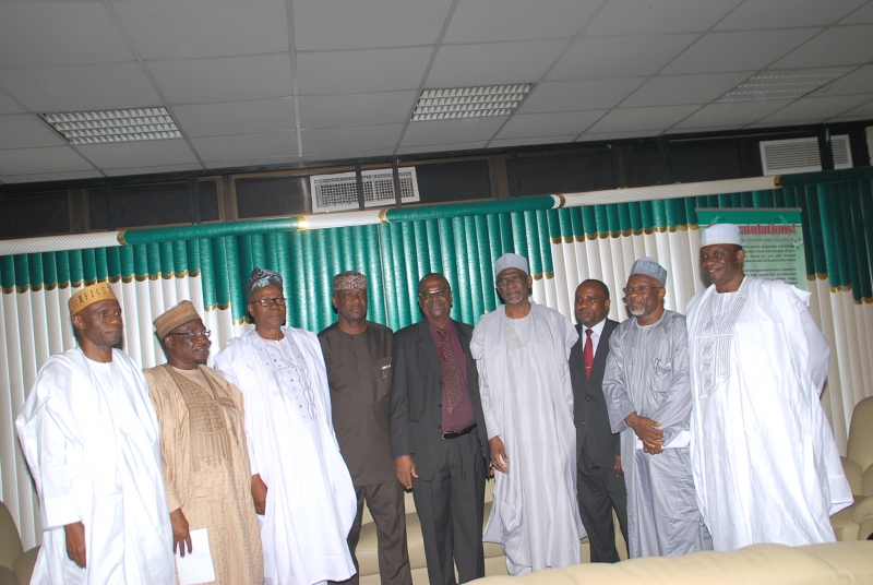 Audit Panel set up by FG to audit 12 new federal government owned universities today at the National Universities Commission 25 May, 2017