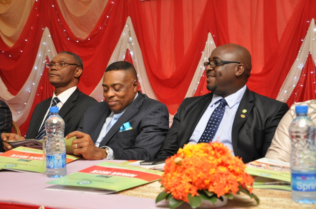 Professor Nimi Briggs at the Dinner for Health Week of Medical Women's Association of Nigeria, Rivers State Branch