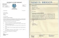 Prof Briggs, Emeritus Professorship