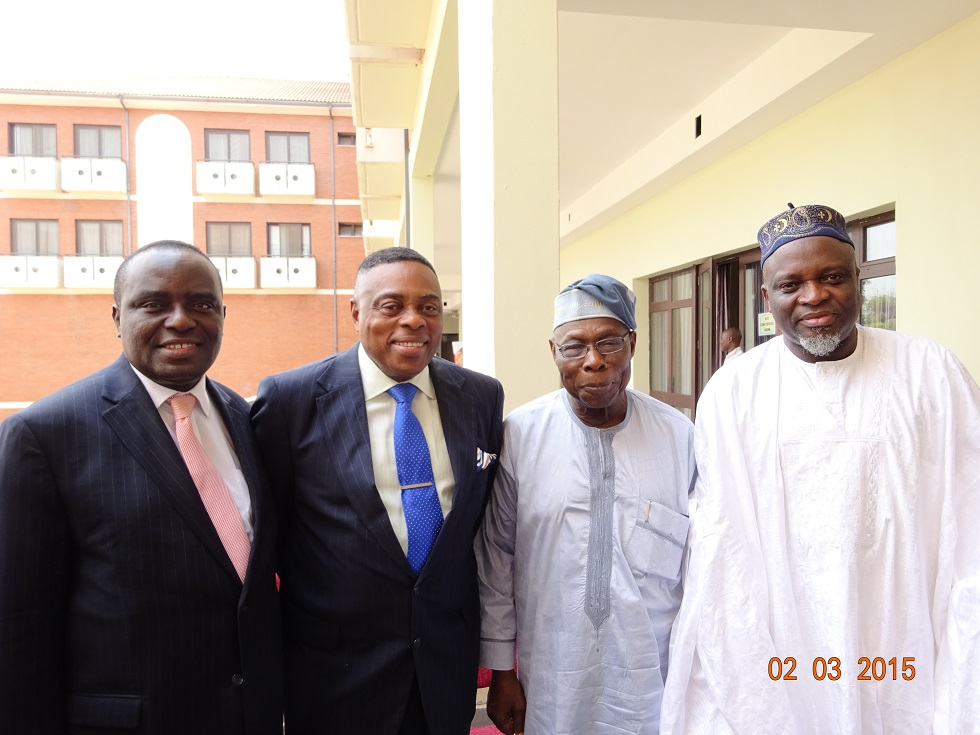 Address of His Excellency, Chief Olusegun Obasanjo, GCFR, at the Inauguration of the OOPL-CHS Special Committee on Health, September 28, 2015