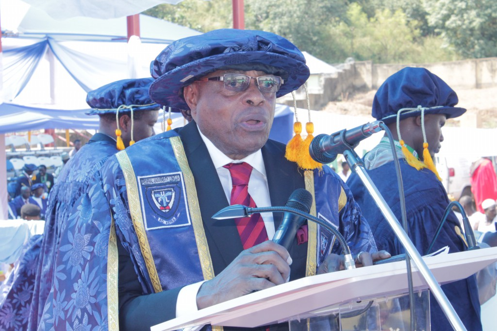 Address By The Pro-Chancellor and And Chairman of Council at Maiden Convocation of Federal University Lokoja