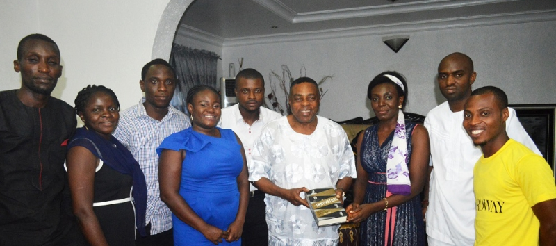 Port Harcourt Start Up Founder Visits Professor Briggs
